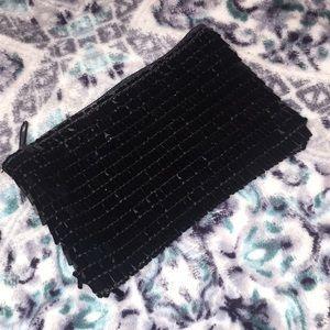 Handbags - Black Sequin Coin Purse